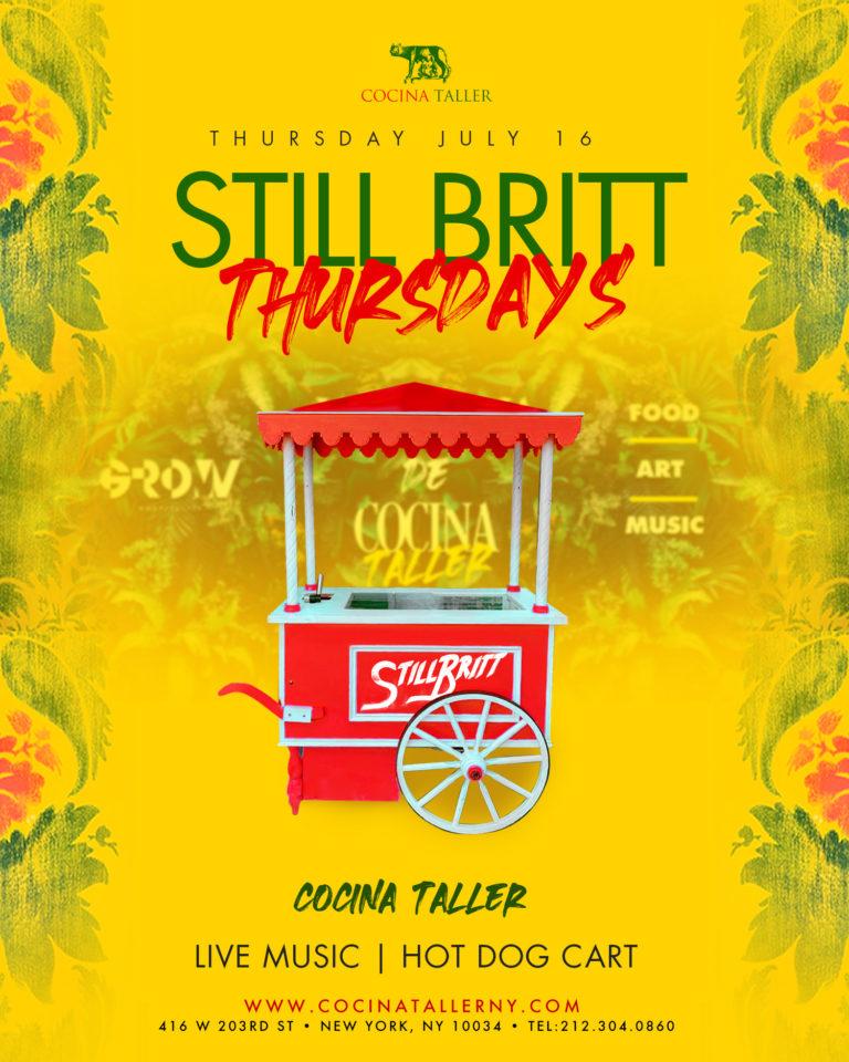 Still Britt @Cocina Taller
